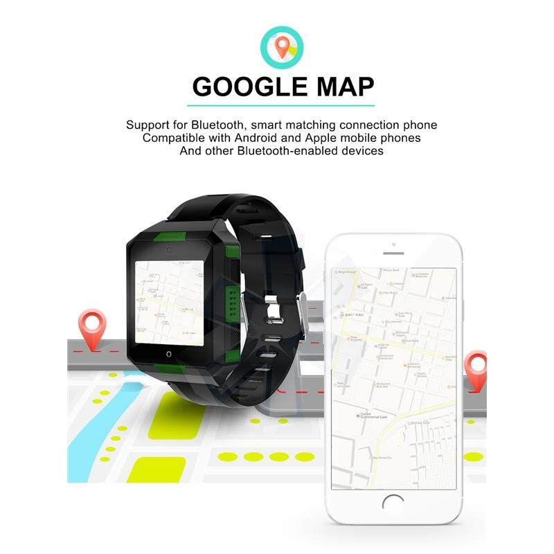 JUNLANG,Smart Wrist Watch, 4G 3G BT Wireless WiFi IP67 Waterproof HD Camera  , IPS TFT Touch Screen, GPS, Fitness Tracker For Android Samsung IOS