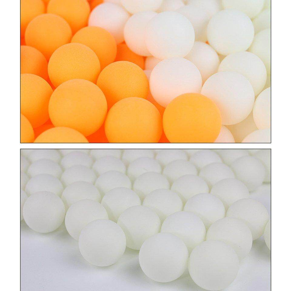 Best Sellers Practical Ping Pong Ball With Two Colors And Logo Choice One Hundred Pcs