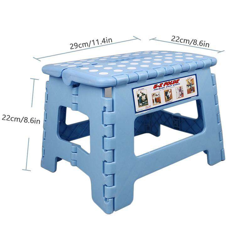 Outstanding Sealavender Foldable Step Stool Plastic Toddler Fold Up Folding Step Stool With Handle Sturdy And Safe Enough For Kids Great For Creativecarmelina Interior Chair Design Creativecarmelinacom