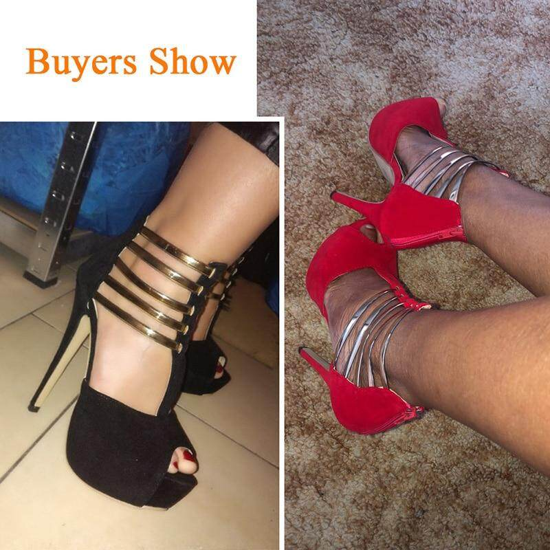 1d57c96bb sexy high heels women shoes platform peep toe wedding shoes women pumps  black red shoes woman high heel shoes 2019 tacones mujer