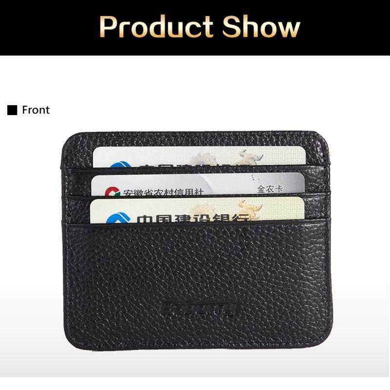 ddcfba079333 XHL Credit Card Holder Wallet For Credit Cards Id Card Rfid Leather Wallet  Card Holder Dollar Slim Minimalist Wallet