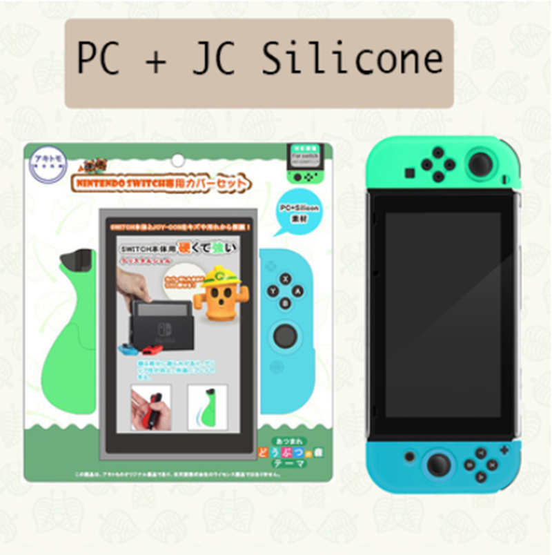 Ns Switch Animal Crossing Console Case Pc Hard Shell Cases Cover For Nintendo Switch Joy Con Silicone Case Cover