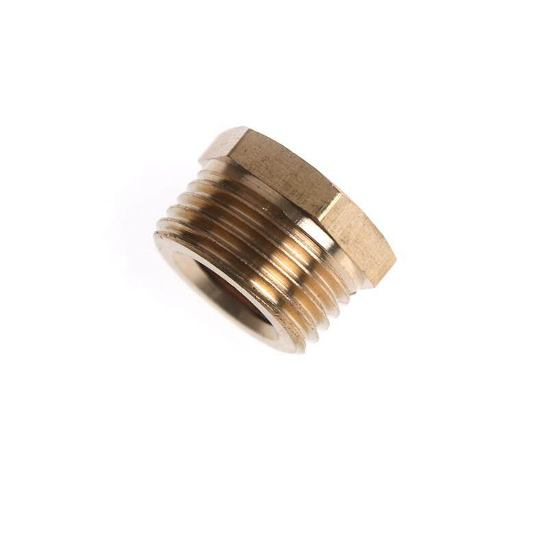 "1//2/"" Male Bsp to 1//8/"" Female BSP Brass Pipe Fitting Reducing Bushing"