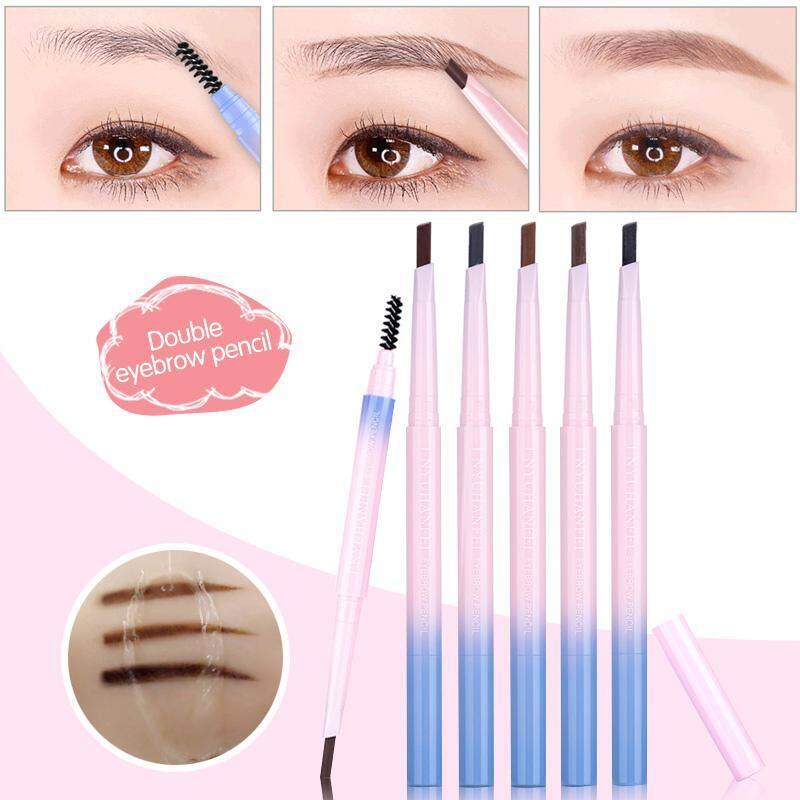 Thrush Tool Eyebrow Pencil Fashion 5 Color Double Head Beauty Health Makeup  Tool