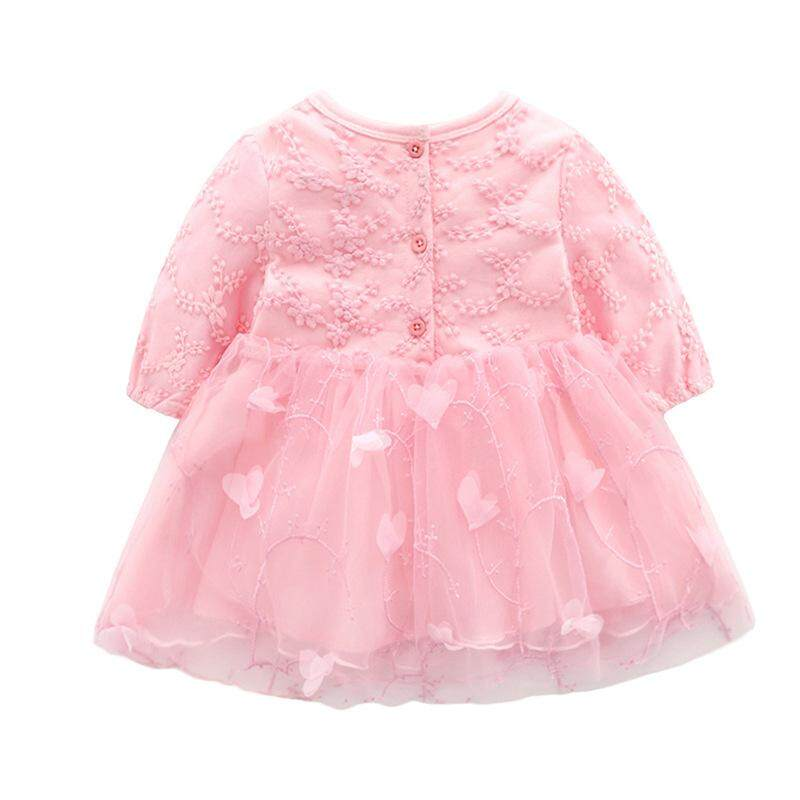 a48be8b1b Specifications of Newborn Baby Dress Party Clothing For 0-12M Christening  Ball Gown Toddler Petals Decoration Christmas Birthday Dresses