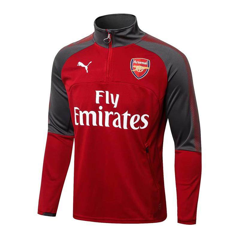 cheap for discount 5b2e9 afd33 【Flash Sale】17/18 Top Quality Arsenal Football Long Sleeve Training Jersey  T-shirt Training Wear