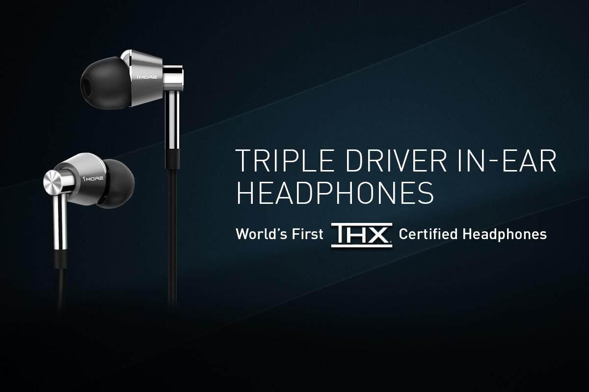 1MORE Triple Driver In-Ear Headphones (E1001) 4