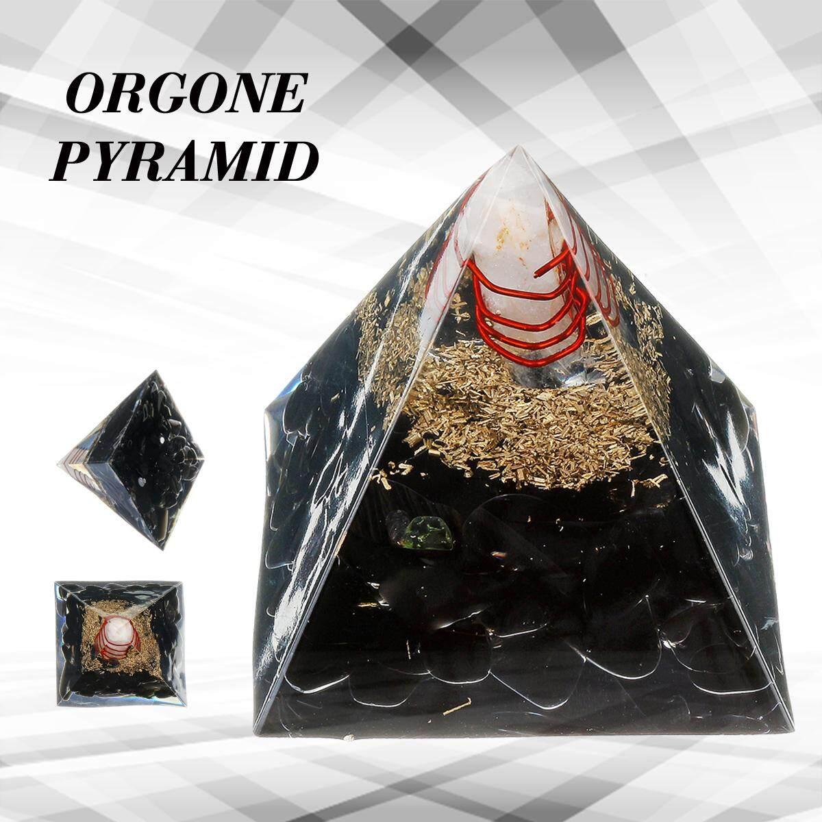 Himalayas Stone Orgone Pyramid Energy Generator Tower Home Reiki Healing  Crystal