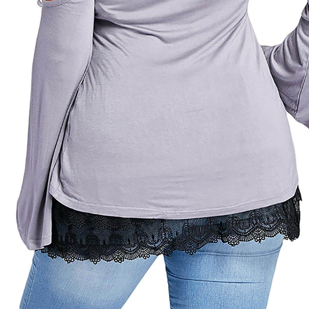 0989f53b79 Women Layered Tiered Sheer Lace Trim Extender Half Slips Plus Size ...