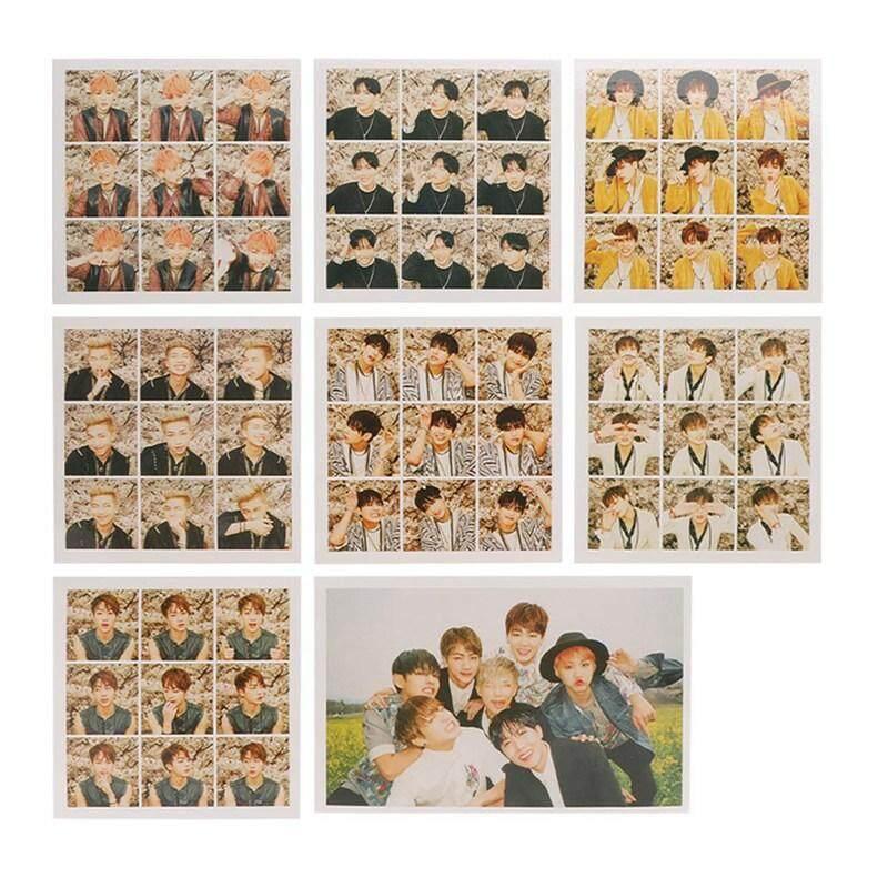 BBty Korea Pop BTS Bangtan Boys Flower Times Homemade Album Cards Photo  Card Postcard Cards