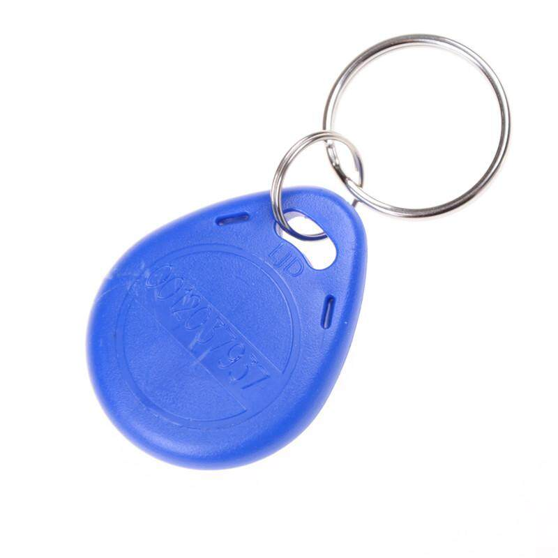Easyuse 10pcs EM4305 Copy Rewritable Writable Rewrite RFID Tag Key Ring  Card 125KHZ
