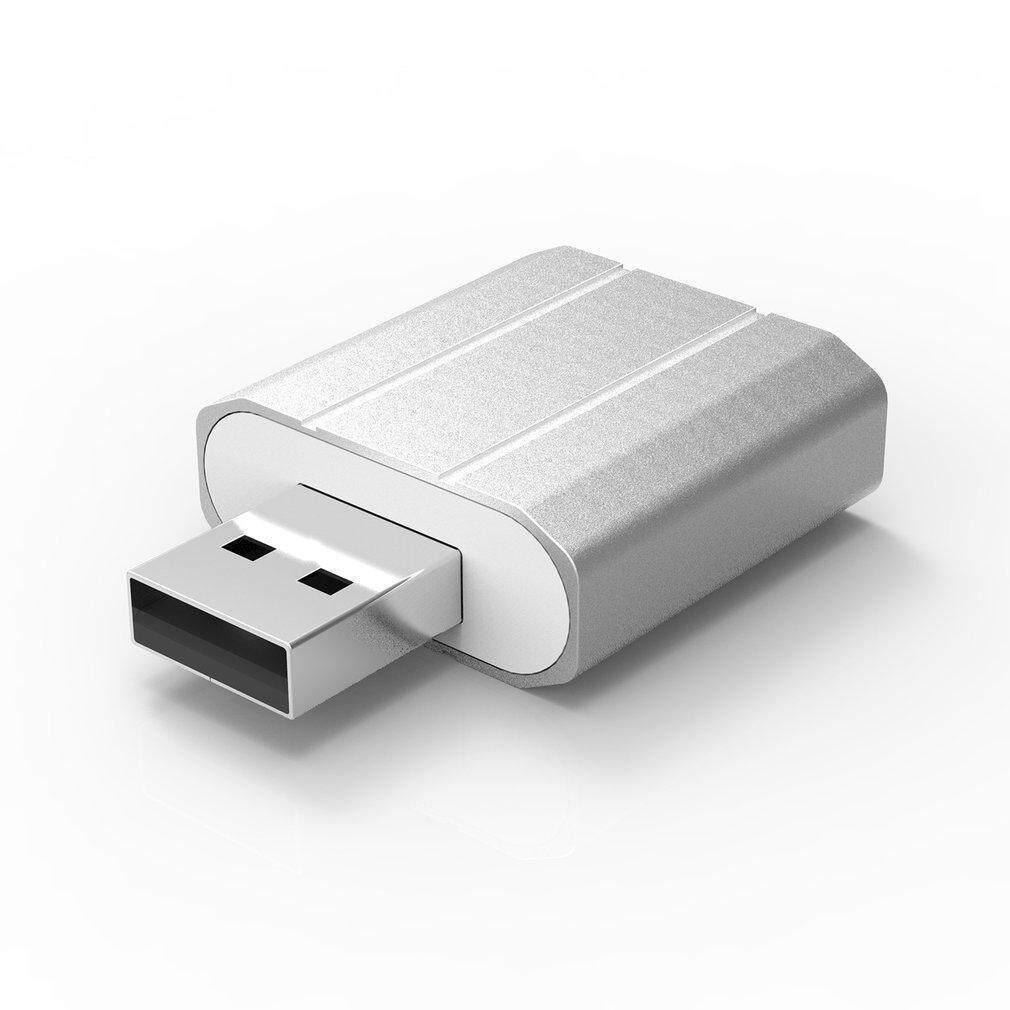 Te High Quality Mini Usb External Drive Double Hole Sound Card
