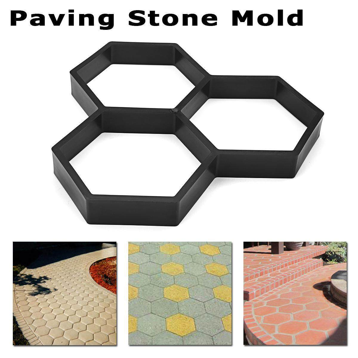 Home Garden Paving Stone Mold Paving Concrete Stepping