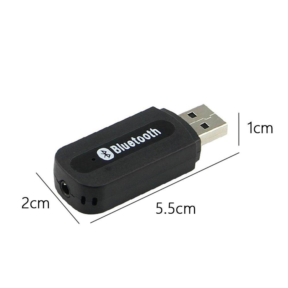 3.5mm Wireless USB Bluetooth Receiver For Aux Stereo Audio Music Car Adapter NEW
