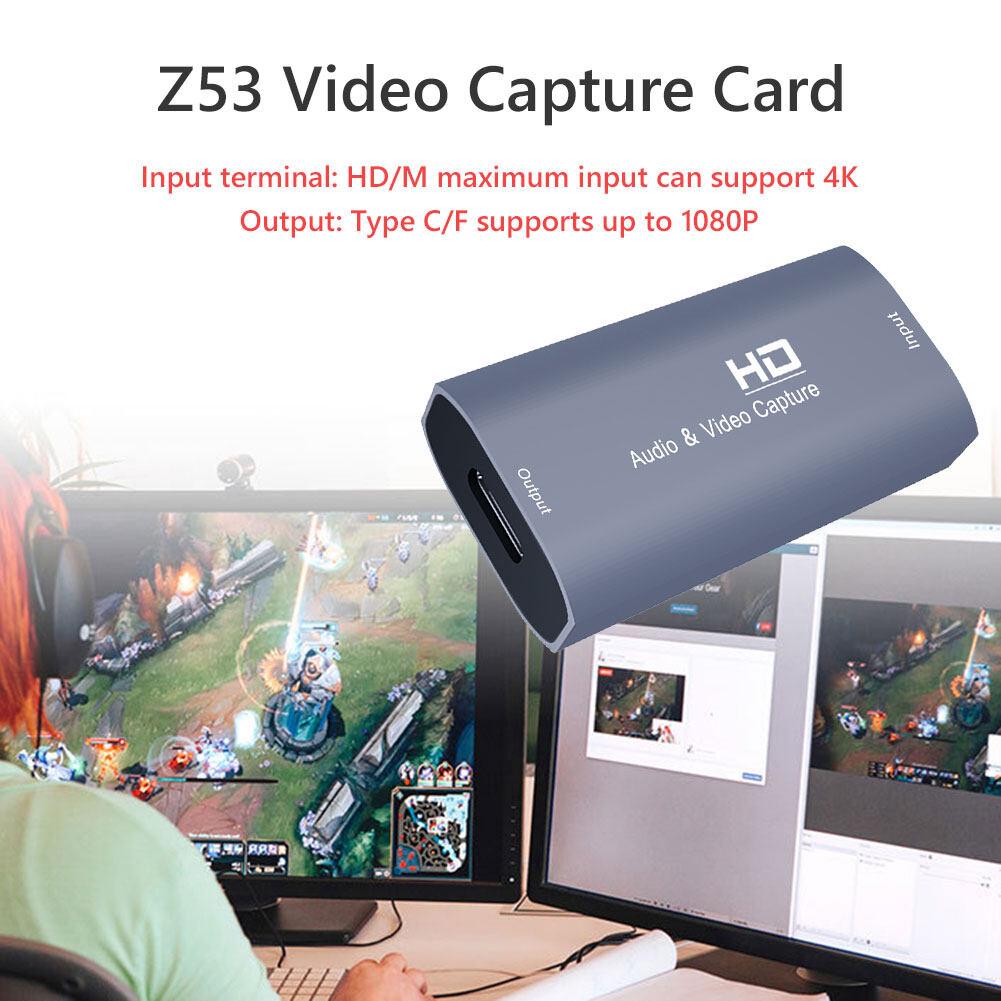 Thẻ Quay Video 4K, Dụng Cụ Lấy Video Hộp Ghi Âm, Dành Cho Máy Quay Trực  Tiếp Trò Chơi Ghi Hình Camera - Đầu ghi phát DVD, Blu-ray