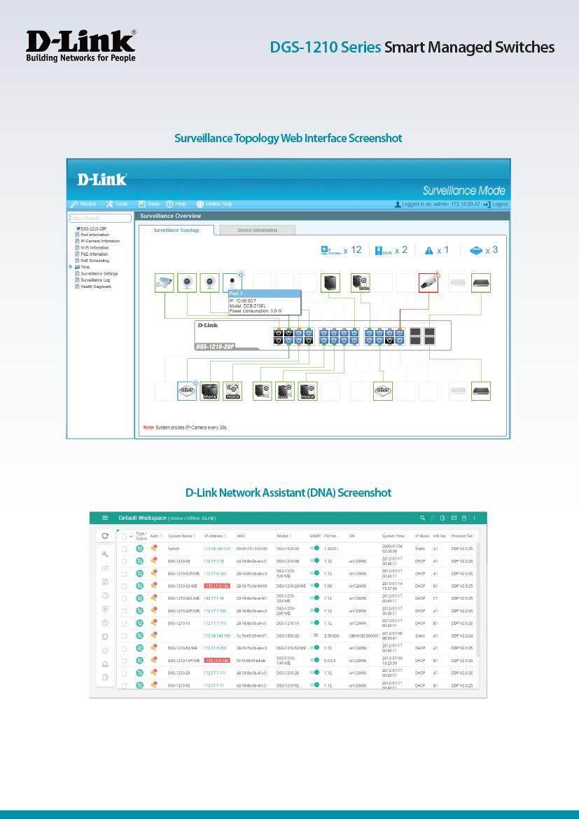 D-LINK DGS-1210-26 24 Port Web Smart Gigabit Switch + 2 SFP Port