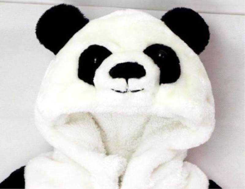 Baby Kids Toddler Panda Animal Bodysuit Jumpsuit Romper Outfit One-Piece Costume