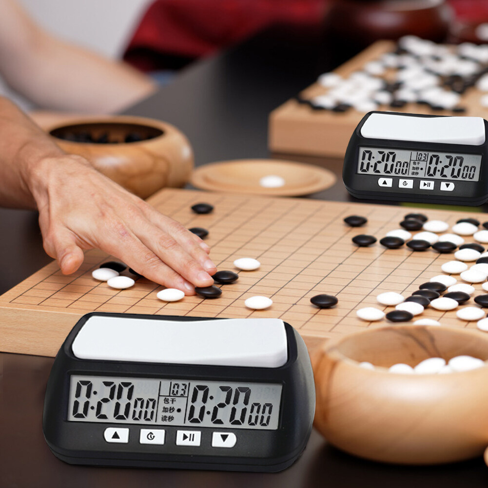 Tool Multifunction Countdown Chess Clock Reinforced Game Timer Accurate Digital