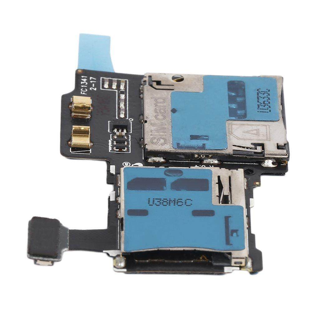 Memory Card Reader SIM Tray Holder Flex Cable for Samsung Galaxy S4 i9505