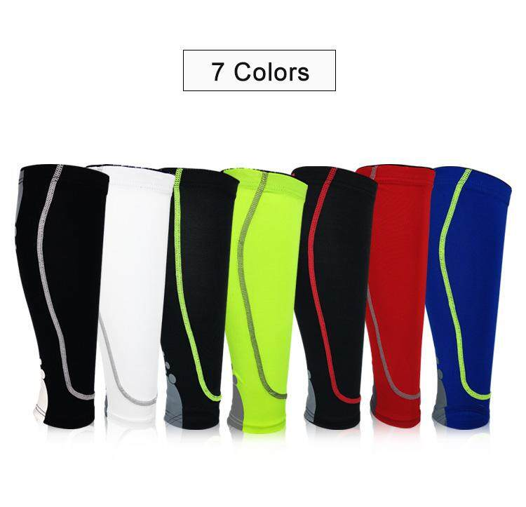 9719f7f805f84 Product details of 1 pair Sports guard Leg Sleeves calf Compression  bracelet unisex basketball football running leggings breathable warm socks  2019