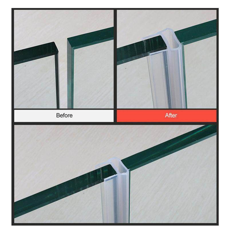 Aolvo 9 8ft Glass Shower Door Seal, Glass Shower Door Rubber Seal Strip