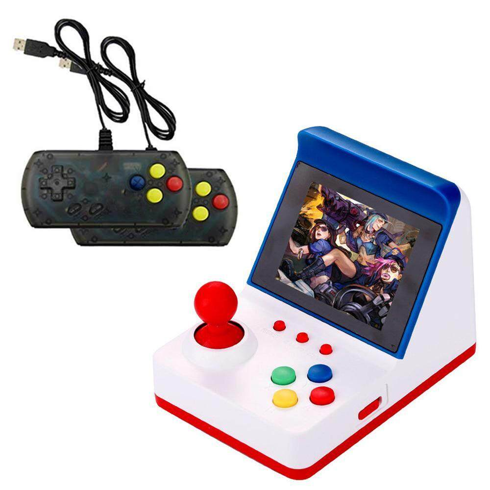 Treeone Mini Arcade Game, 3 0 Inch Retro Arcade Console Classic Handheld  Video Games Home Travel Tiny Arcade Machines with 2 Controllers - Build in