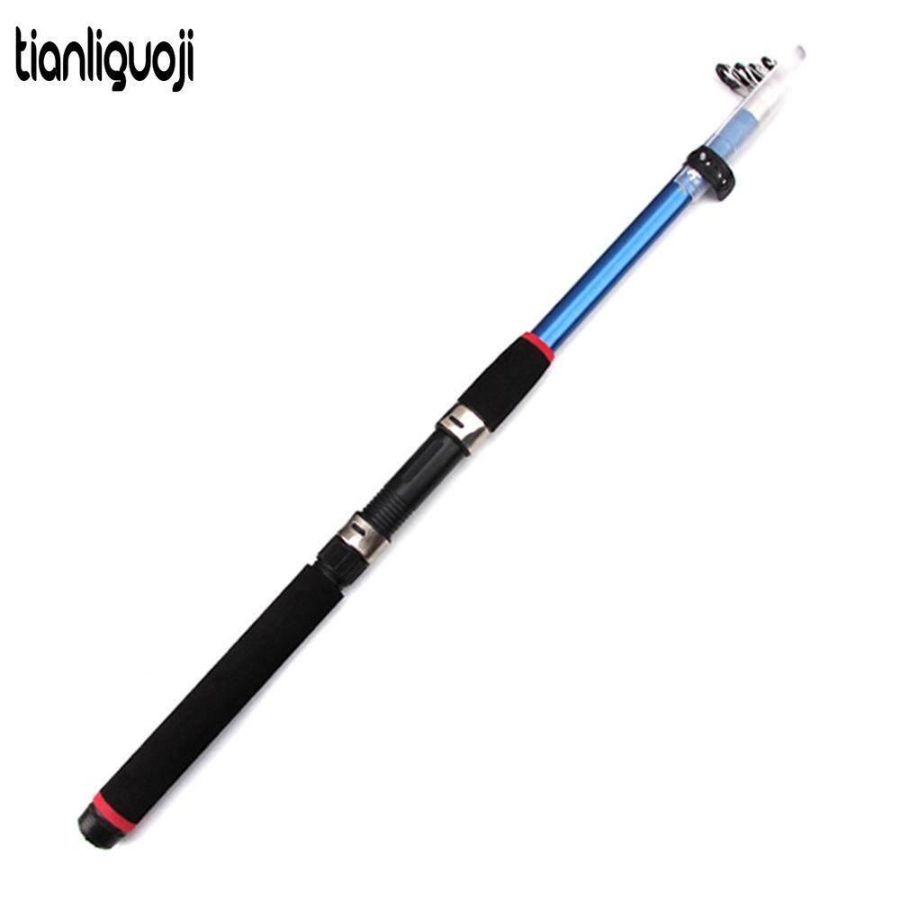 Fishing Rod Telescopic Saltwater Carbon Fiber Fishing Rod Pole 2.1-3.6M Premium