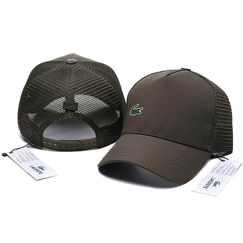 6f3d3aa5 Official Authentic _LACOSTE Baseball Cap Summer Mesh Breathable Sports Cap  Hats for Men and Women Caps