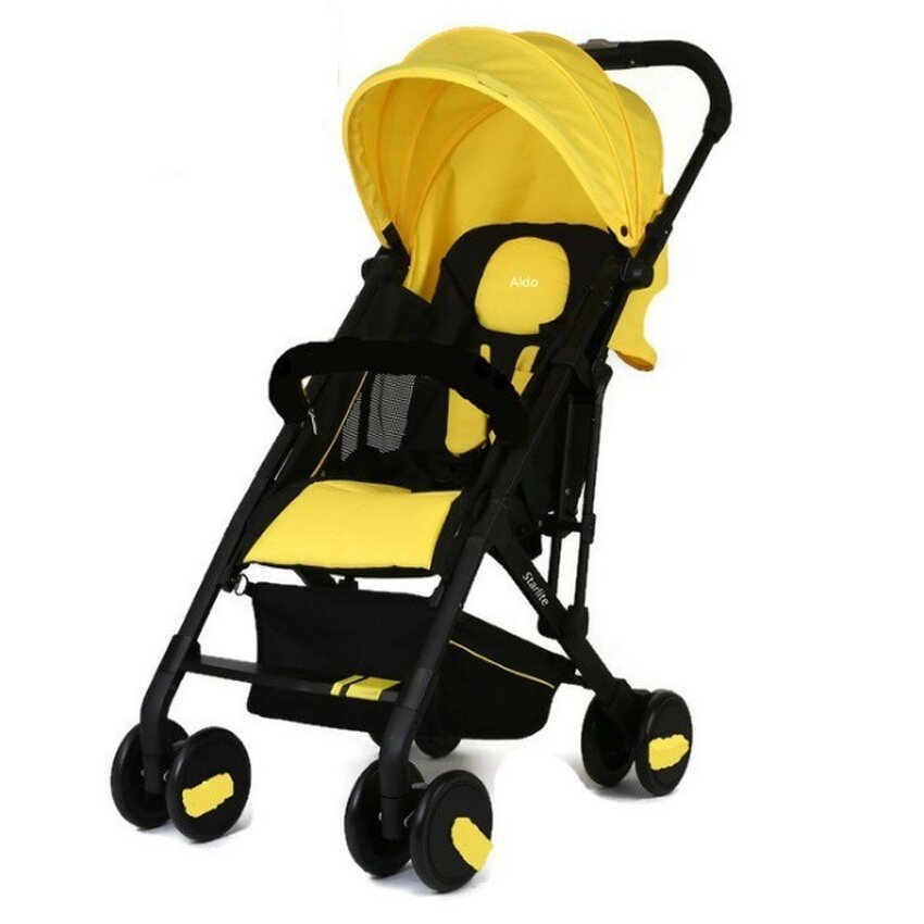 Halford Aldo Compact Stroller (Yellow)