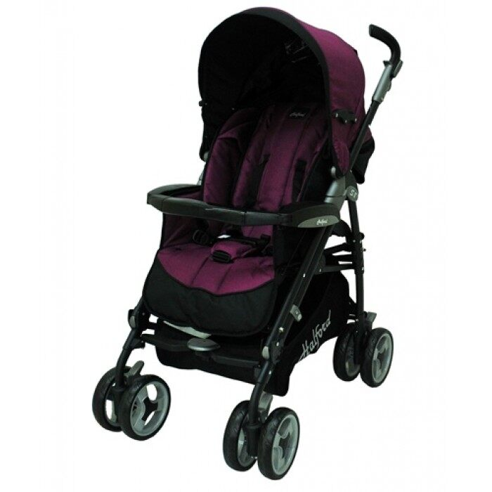 Halford s8 Pramette Stroller with Elite Carrier - purple