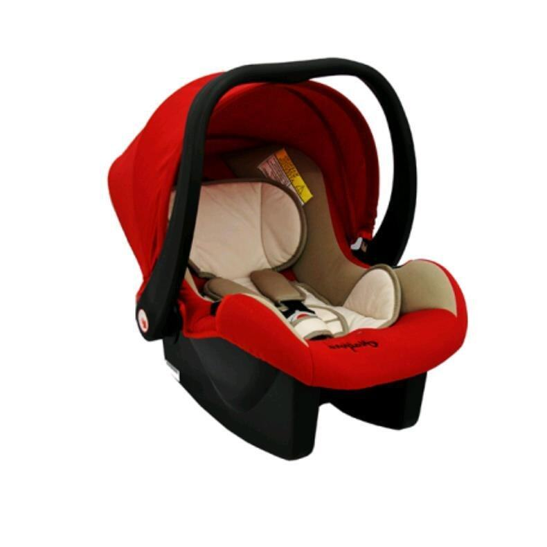 Halford Titania Stroller with Orion Infrant Carrier - Red