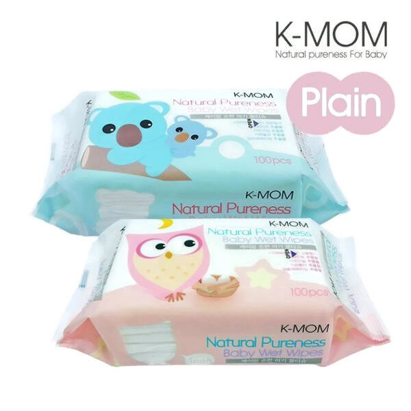 K-MOM Natural Pureness Baby Wet Wipes - 100pcs