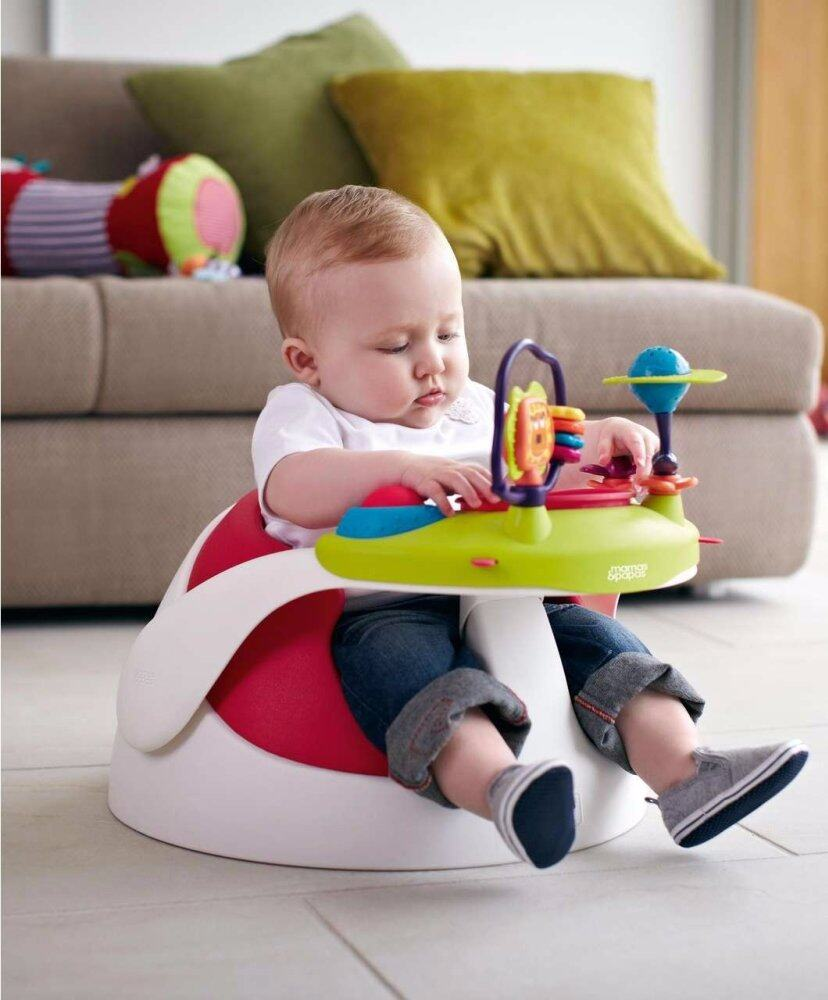 Mamas and Papas Baby Snug With PlayTray (Red)