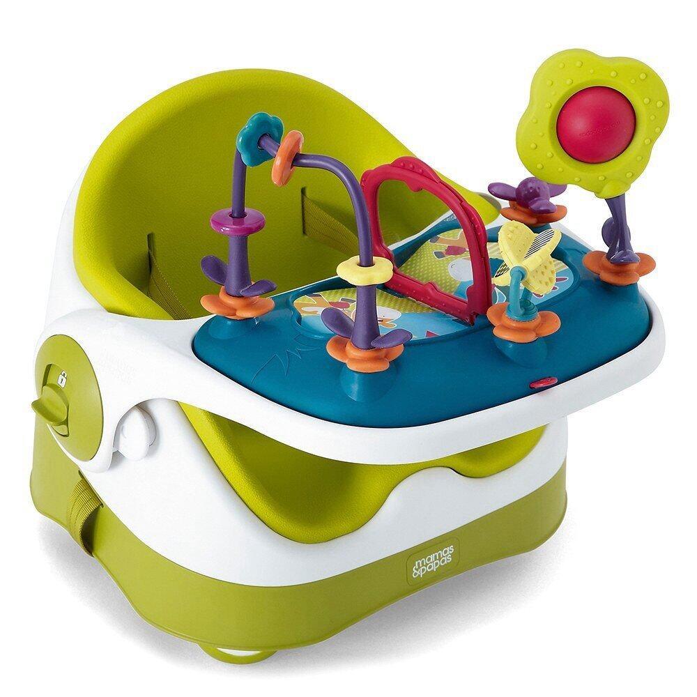 Mamas & Papas Baby Bud with Play Tray - Lime
