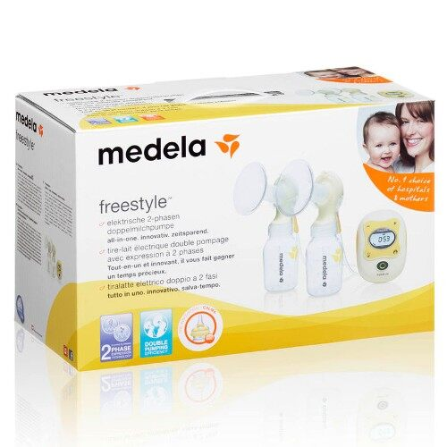Medela - Freestyle DOUBLE Electronic Breast Pump 2016 100% NEW