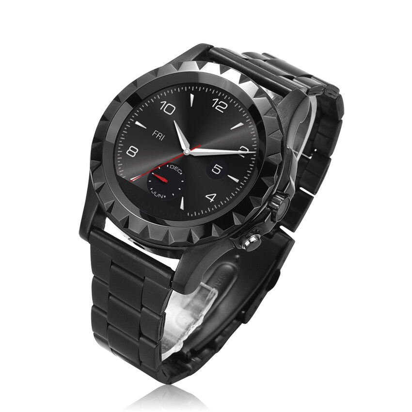 No 1 Sun S2 Ips Waterproof Smart Watch Phone Steel Ios Android Wearsmartphone Black Murah