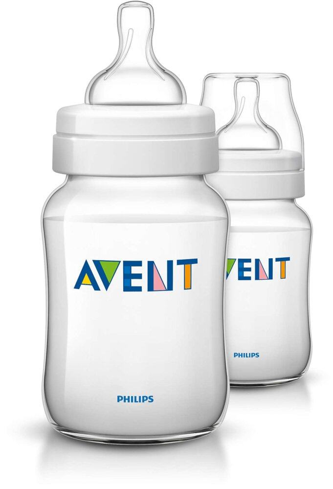 Philips Avent Bottle Classic + PP 260ML/9oz - Twin Pack
