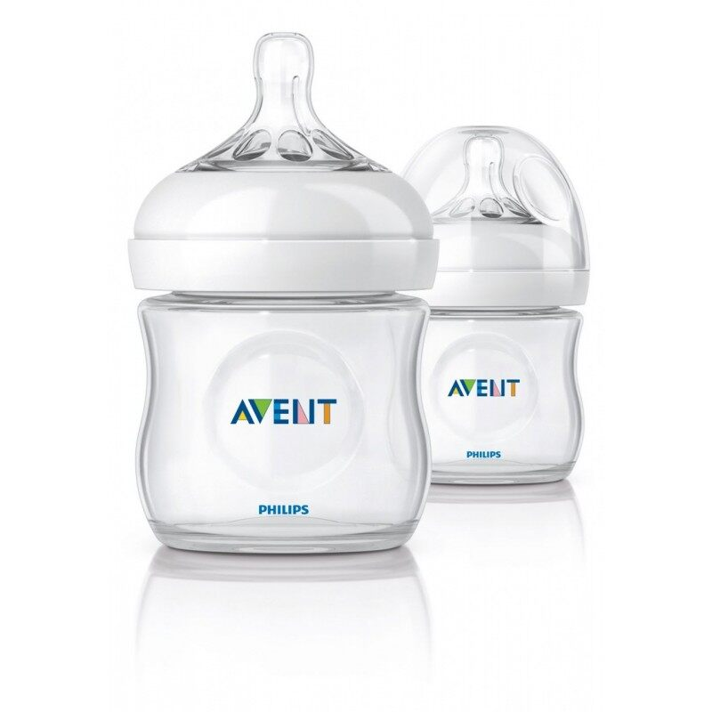 Philips Avent Natural Bottle 125ml/4oz - Twin Pack