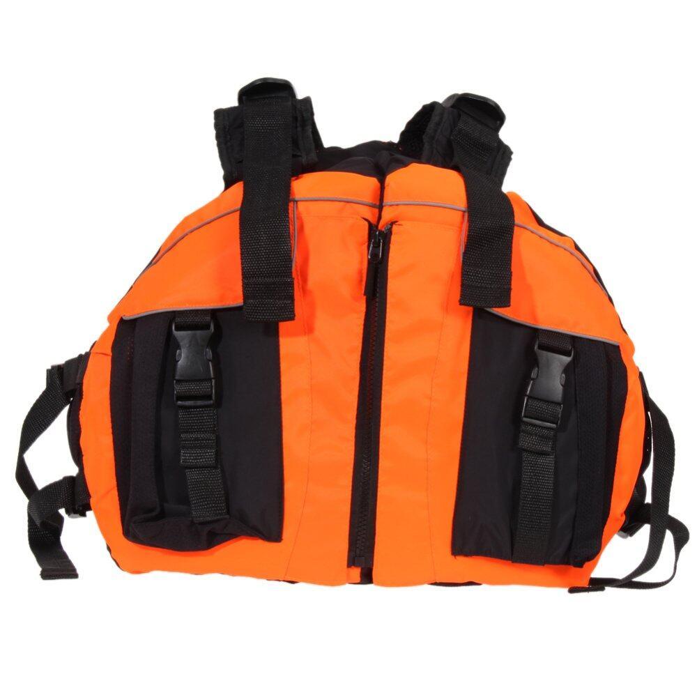 Dapatkan Segera Polyester Life Jacket Universal Berenang Perahu Ski Boat Wanita Oranye