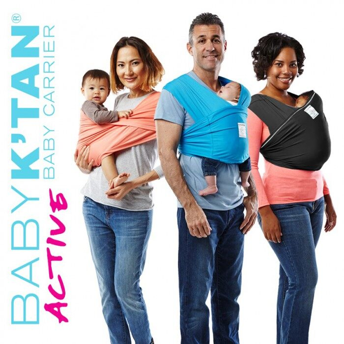 Baby K'tan Active Baby Carrier Coral S