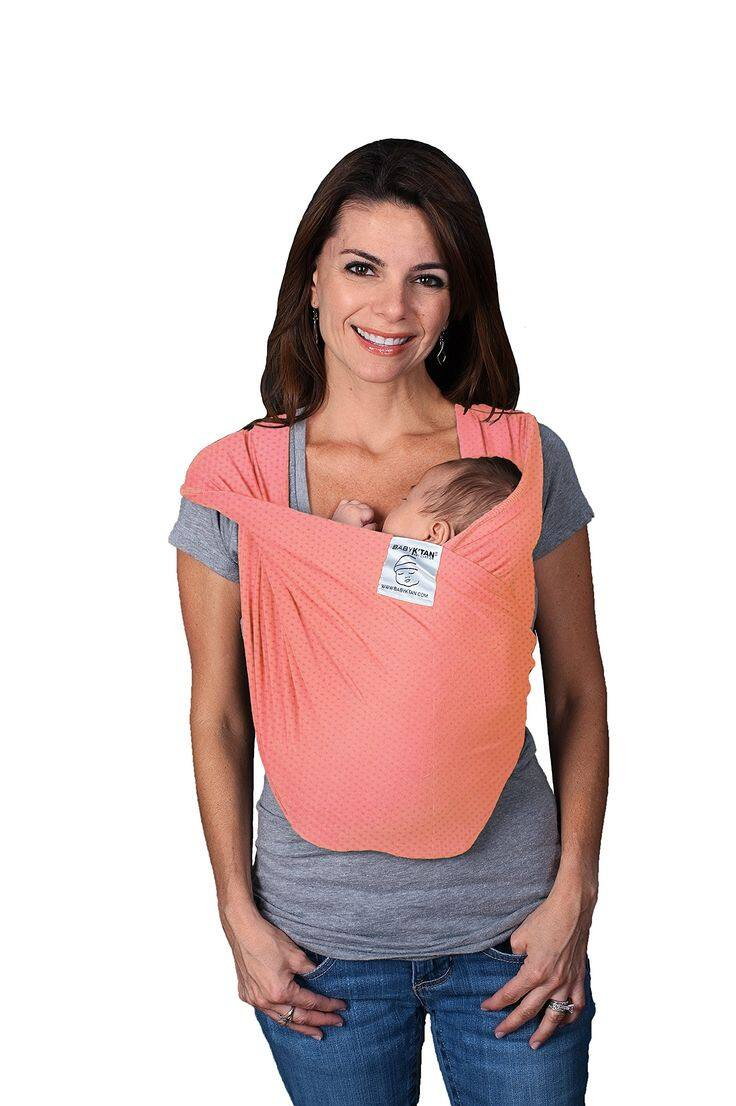 Baby K'tan Breeze Baby Carrier Coral XS