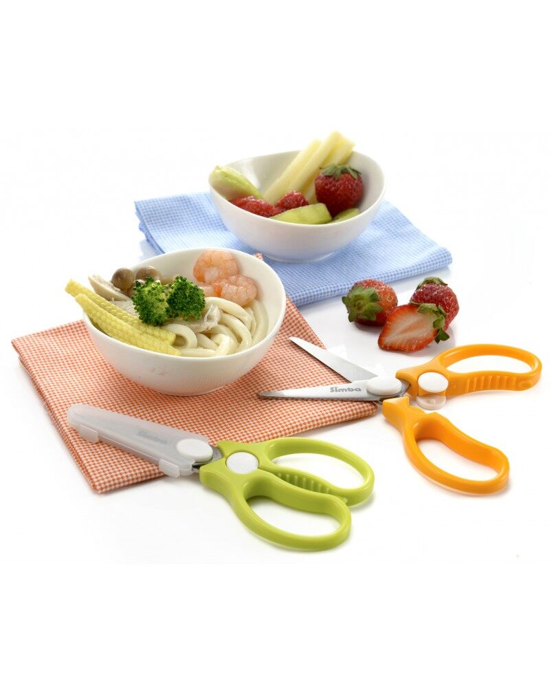 Simba Baby Food Scissors - Green