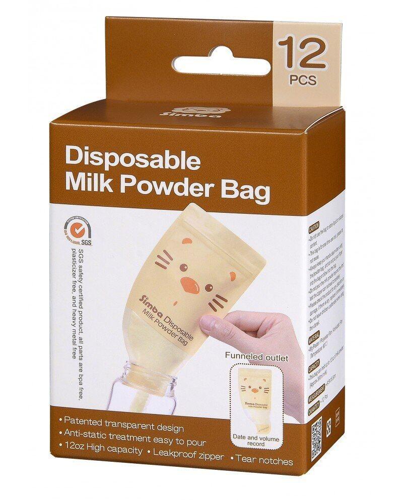 Simba Disposable Milk Powder Bag - 12pcs