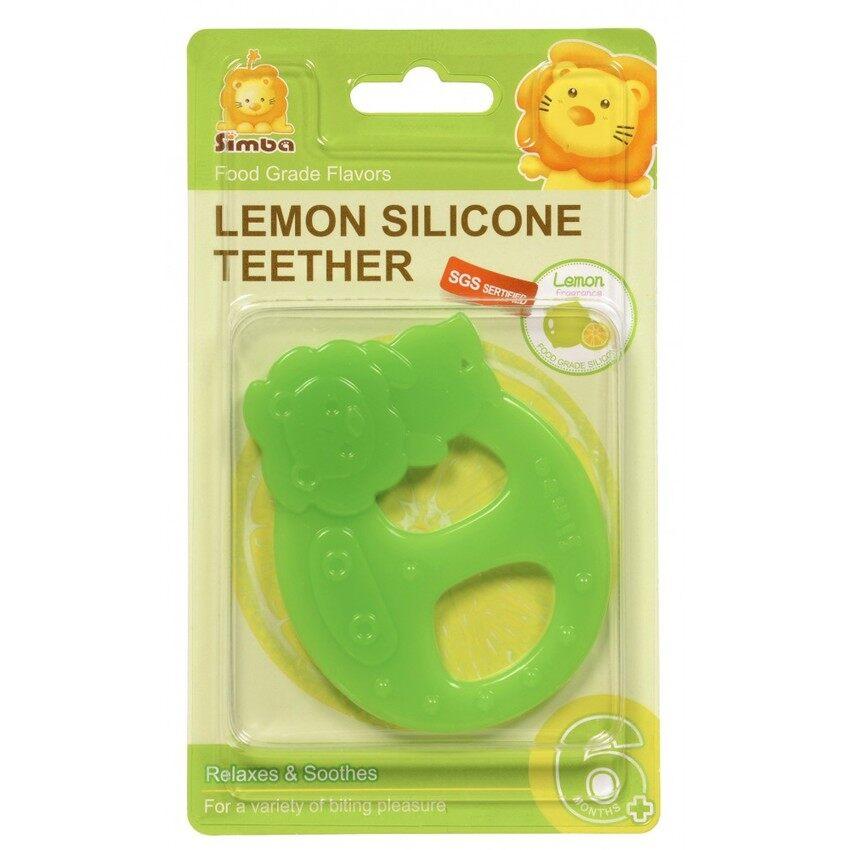 Simba Lemon Flavor Silicone Teether (Simba Green)