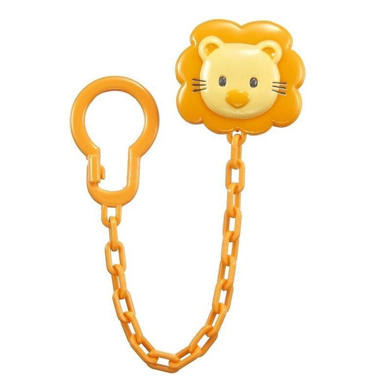 Simba Pacifier Holder Chain Type - Orange