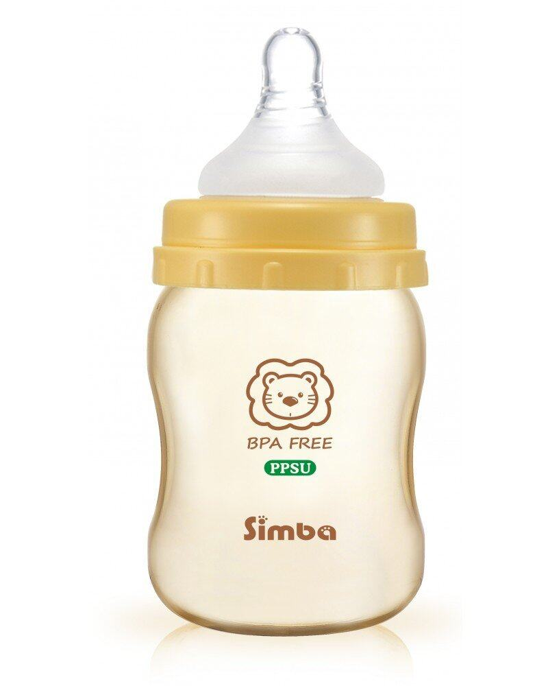 Simba Starter Kit Cross Hole- PPSU Feeding Bottle Series