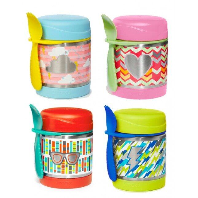SKIP HOP Forget Me Not Insulated Food Jar- heart