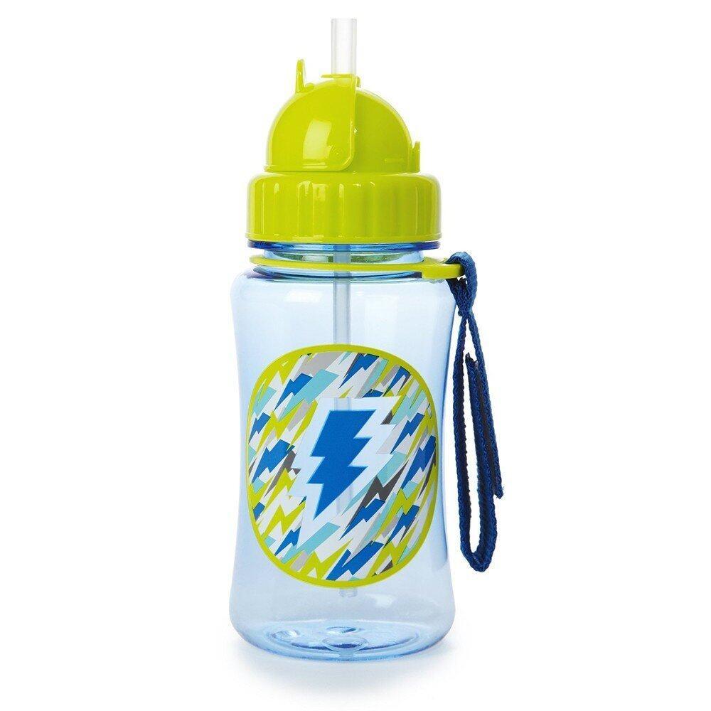 SKIP HOP Forget Me Not Straw Bottle - Lightning
