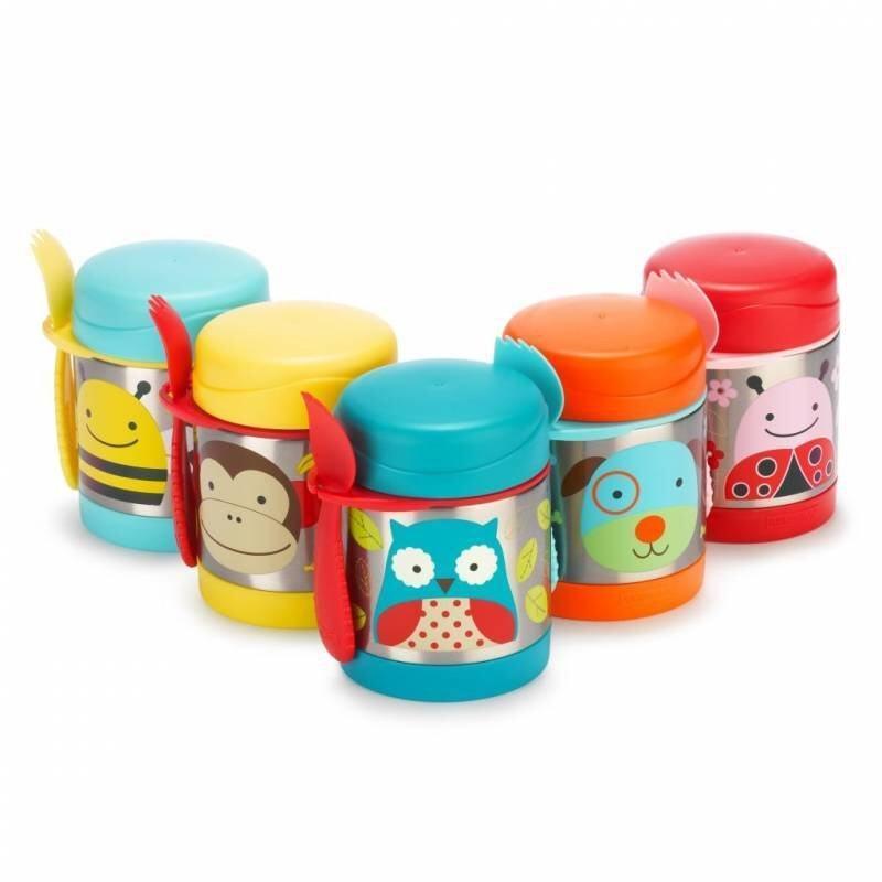 SKIP HOP Zoo Insulated Food Jar - Random Design