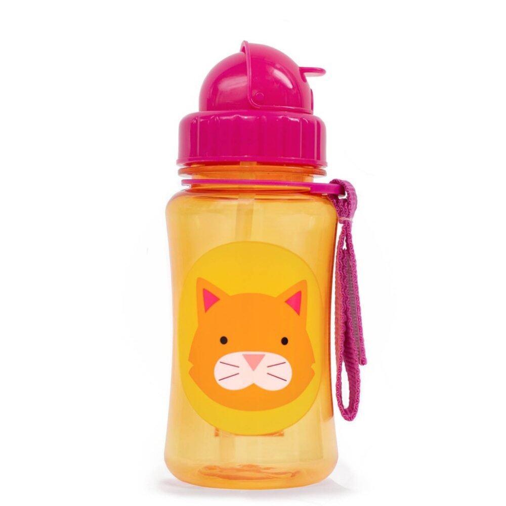 SKIP HOP Zoo Straw Bottle - Cat